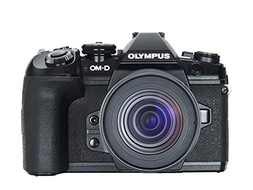 Olympus OM-D E-M1 Mark II Micro-Four-Thirds-Systemkamera-Kit inkl. M.Zuiko Digital ED 12-45mm F4 PRO Objektiv, 20 MP Sensor, 5-Achsen-Bildstabilisation, leistungsstarker Autofokus, 4K Video, Schwarz