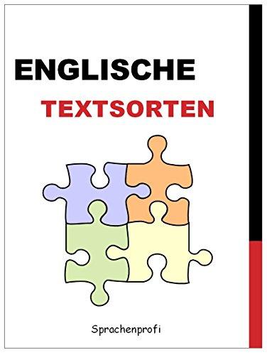 Englische Textsorten mit Beispielen