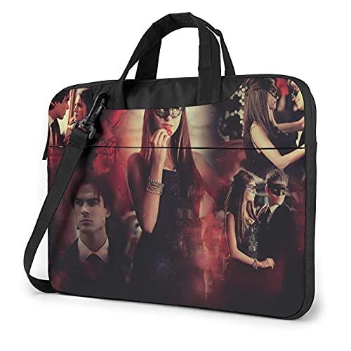 XCNGG Vampire Diaries Borsa per laptop Borsa per tablet Custodia protettiva Custodia protettiva Borse a tracolla 14 pollici