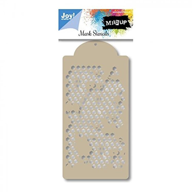 Joy!Crafts Honeycomb Design Mask Stencil, Metal, Grey, One Size