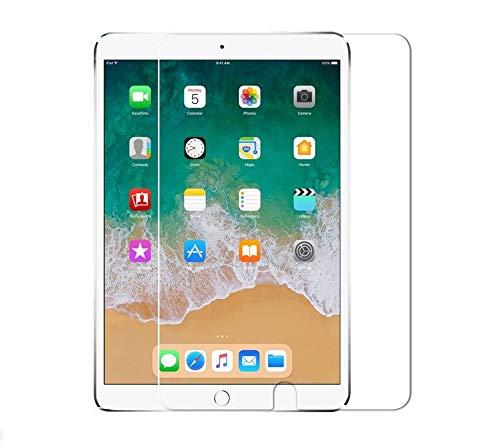 WEOFUN Vidrio Templado Protector Pantalla para iPad Pro 10.5 / iPad Air 10.5/iPad 10.2 2019 /iPad 10.2 2020 Cristal Templado [0.33mm, 9H Ultra Transparent]