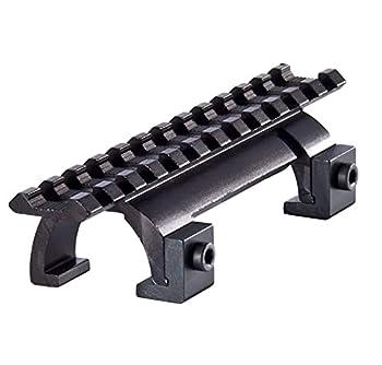 GOTICAL Claw Scope Mount for MP5 MK5 HK G3 GSG5-Hunting Rifle Picatinny Weaver Rail Handguard - Heavy Duty Sight Scope Mounts  Metal