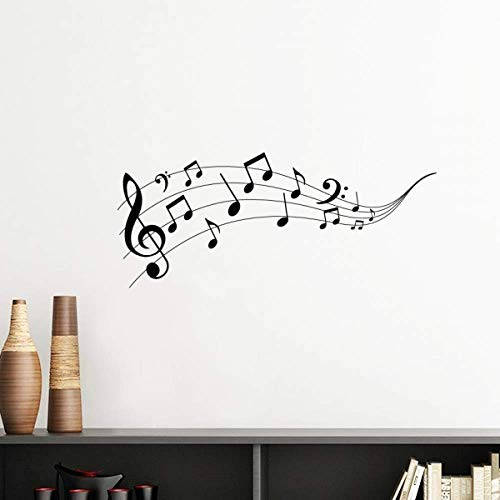 DIYthinker Flappg Music 5-le Staff Vinyl Wall Sticker Wallpaper Room Decal