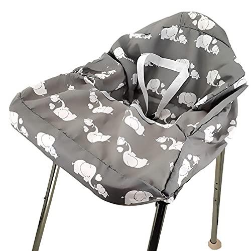 Fundas para carrito de la compra, funda para carrito de la compra, para bebé, portátil, funda para silla alta, lavable a máquina, fácil de transportar y limpiar