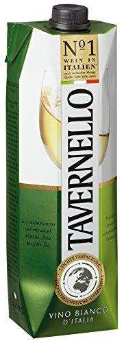 Tavernello Vino d\'Italia Bianco 11{bae98bd742902b8982b5c10301440dd4968f51fc21fe38c8582896c726751ba1} vol. Weißwein 10 x 1 Liter
