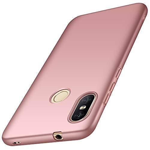 ORNARTO Custodia Xiaomi A2 Lite 5,84',Cover A2 Lite Ultra Sottile e Legere Protettiva Mat AntiGraffio Antiscivolo Plastica Dura PC Shell per Xiaomi A2 Lite (2018) 5,84' Oro Rosa