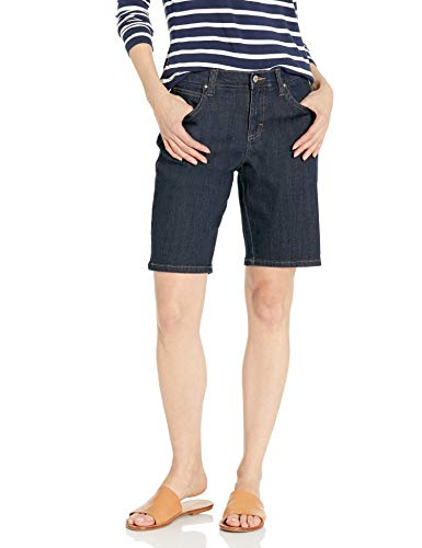 LEE Women's Relaxed-fit Bermuda Short, Lagoon, 10