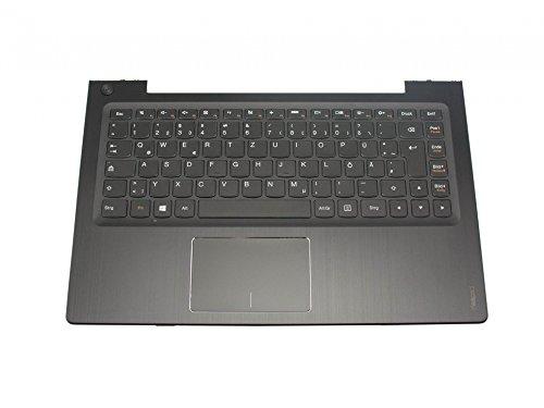 Lenovo IdeaPad U330P Original Tastatur inkl. Topcase DE (deutsch) schwarz/schwarz