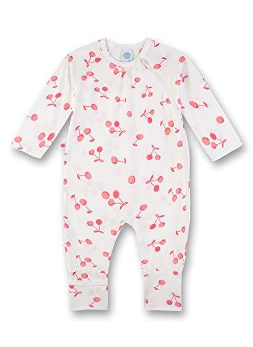 Sanetta Baby-Mädchen Strampler, Beige (beige 1427), 86 (Herstellergröße:086)
