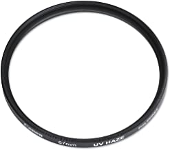 Canon 67mm UV Glass Filter for T2i T3i 7D 60D with 18-135mm