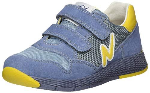 Naturino Jungen Sammy. Gymnastikschuhe, Blau (Jeans/Giallo 1c83), 31 EU