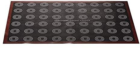 Tappeto in Silicone microforato Air Mat Choux per bigné Silikomart Professional 583x384 mm