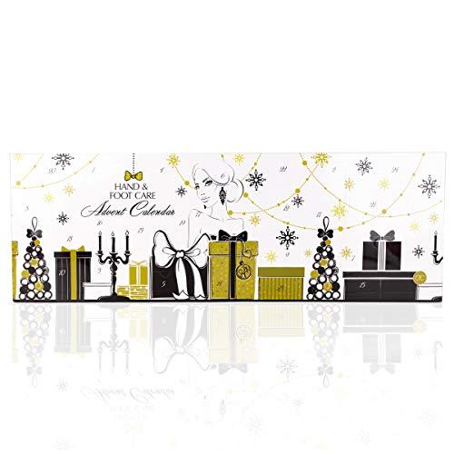 Accentra Beauty Adventskalender Mit 24 Handpflege Fußpflege Und Körperpflege Produkten Für Eine Abwechslungsreiche Adventszeit