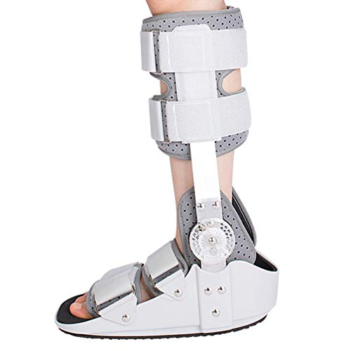 Ankle Braces,Foot Stabilizer Boot, Orthosis Walker Boot,Walker Brace, Walking Boot- Ideal For Stable Foot and Ankle Fracture, Achilles Tendon Surgery, Ankle Sprains,L