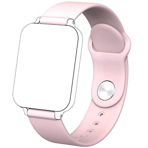 N-B Reloj deportivo de oxígeno en sangre ritmo cardíaco esfigmomanómetro podómetro electrónico Bluetooth reloj inteligente