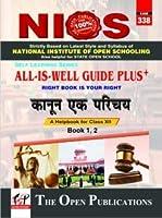 NIOS 338 Kanoon Ek Parichay Class 12 All is Well Guide Plus+