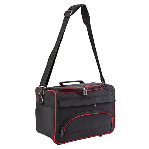 Schoudertas voor kappersgereedschap, draagbare koffer voor kappers met grote inhoud, voor haardrogers en stijltang en schaar en kam.