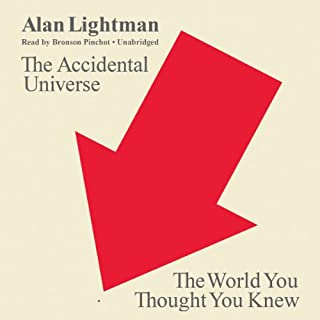 The Accidental Universe audiobook cover art