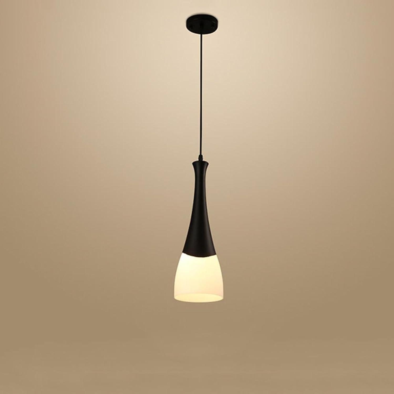 AOKARLIA Modern Deckenleuchten Hngelampe Leuchter Beleuchtung, Pendelleuchte zum Wohnzimmer Schlafzimmer [Energie Klasse A +], 1 Head