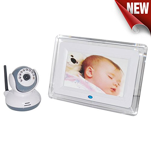 Best Review Of BEIBEIKA 7 inch Wireless Baby Monitor Night Vision 2 Way Talk talkback system With 1 ...