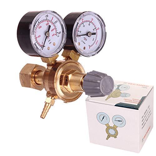 Druckminderer CO2 Argon MIG MAG WIG Schutzgas Schweiß Gas Druckregler 0-300 AI1006