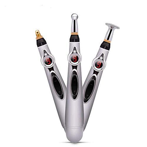 YHNJI Pluma Acupuntura Electronica Terapia de Masaje Instrumento para aliviar Dolor Acupuncture Pen