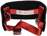 Portwest FP08 Cintura di Posizionamento regolabile, Taglia unica, Nero/Rosso