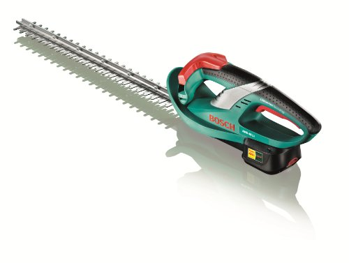 Bosch AHS 48 LI Cordless Lithium Ion Hedgecutter Featuring Syneon Chip (1 x 18 V Battery, 2.0 Ah)