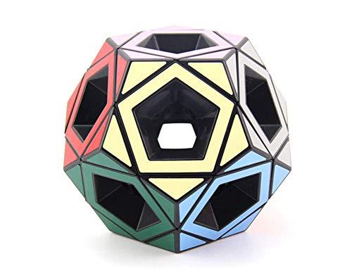 XJZKA Hollow Five Rubik Cube Black Puzzle Alien Hollow Estudiante Adulto Descompresión...