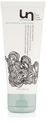 Unwash Bio-Cleansing Conditioner Hair Cleanser: Co-Wash Cleansing & Conditioning, 2.5 oz