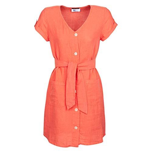 ONE STEP RONIN Jurken dames Oranje - DE 36 (EU 38) - Korte jurken