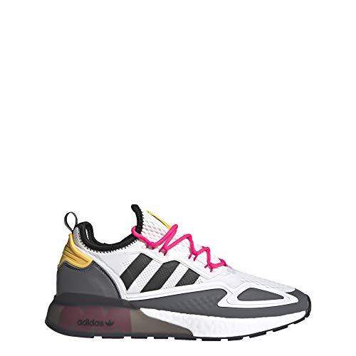 adidas Ninja ZX 2K Boost Shoes Men's, White, Size 5.5