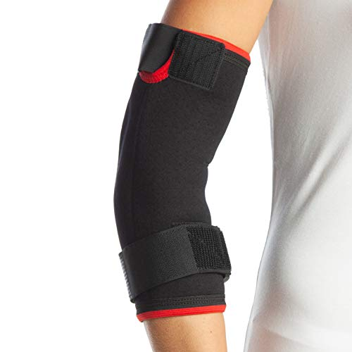 armoline Tennis Elbow Support Brace Brazo Derecho gimnasio correa dolor de epicondilitis Wrap manga artritis deporte Protector de brazo golfistas Epi–neopreno ajustable