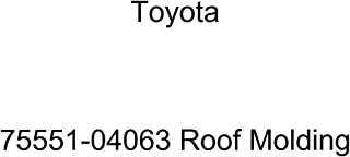 TOYOTA 75551-04063 Moulding, ROOF DRIP