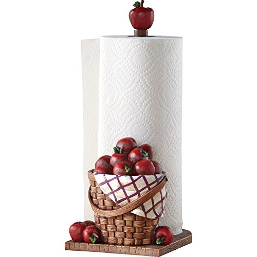 Red Apple Kitchen Paper Towel Holder by Collections Etc