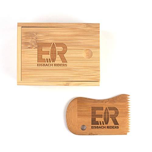 Eisbach Riders Bamboo - Cera de bambú con peine (caja de cera y combinación)