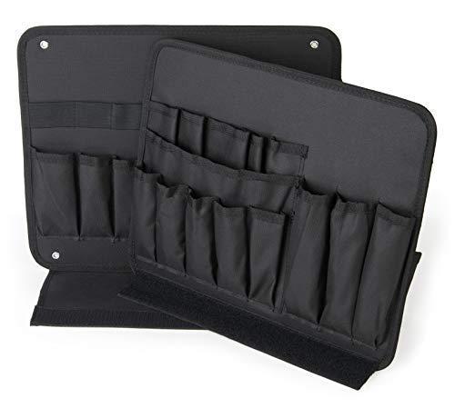 Tasca portautensili Bosch L-Boxx Sortimo | Set 2 pezzi con 3 lati utilizzabili | Compatibile con tutti i Bosch L-Boxx per cassetta attrezzi completa