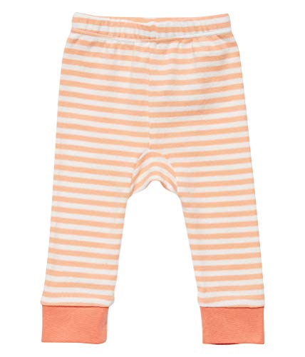 Sense Organics baby leggings zalm gestreept ecologisch maat 80