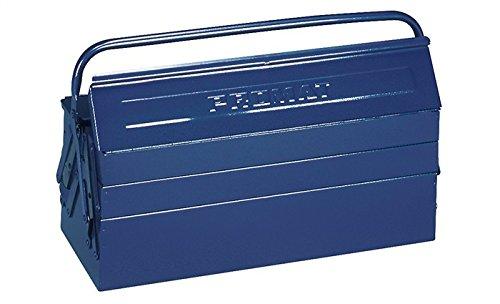 PROMAT 871264 Werkzeugkasten 5tlg. 600x200x200mm Stahlblech blau PROMAT Griff umlegbar