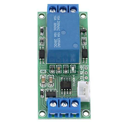 Omabeta Módulo de Interruptor de Bloqueo automático de un botón ON/Off Optoacoplador de Bloqueo automático de 6 Puertos para proyectos de electrónica de construcción(24V)