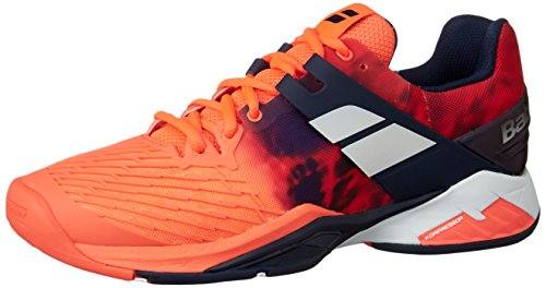 Babolat Propulse Fury all Court, Scarpe da Tennis Uomo, Rosso (Red 201), 46.5 EU
