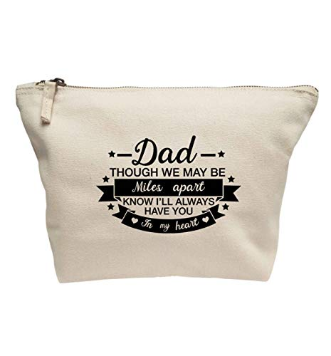 Flox Creative Trousse de maquillage Dad Miles Apart Always Have You in my Heart