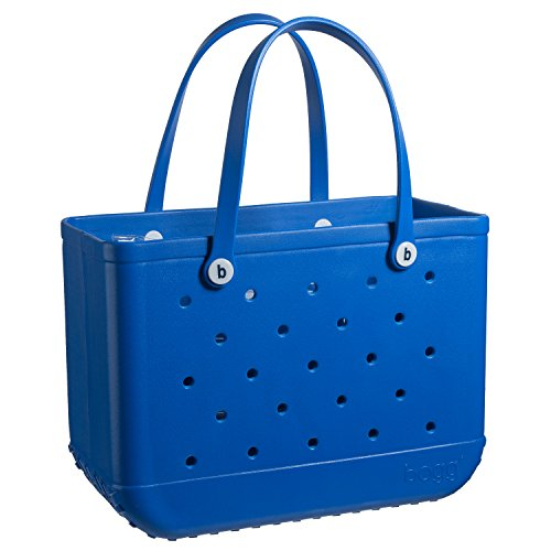 BOGG BAG X Large Waterproof Washable Tip Proof Durable Open Tote Bag for the Beach Boat Pool Sports 19x15x9.5 (X-Large, Carolina on my mind BLUE)