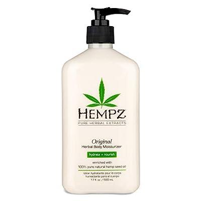Original, Natural Hemp Seed Oil Body Moisturizer with Shea Butter and Ginseng, 17 Fl Oz from Hempz