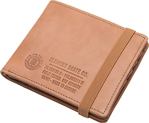 Element Cartera con Biolsillo Monedero Endure L, Cuero Hombre talla: Talla única
