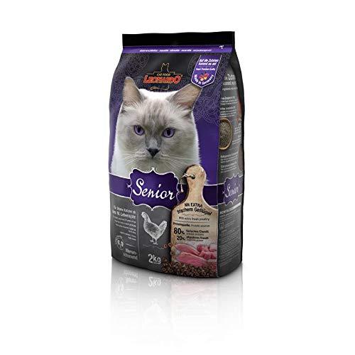 Leonardo Senior 2 kg Premium Katzenfutter für ältere Katzen