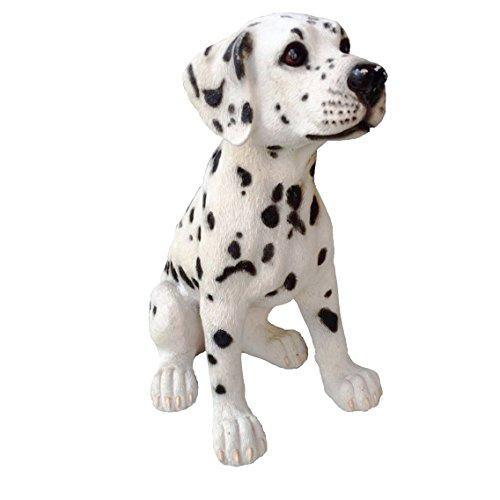 Life-like Handcrafted Resin Original Size Retriever Sculptures (Dalmatians)