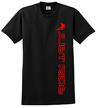Just Ride Wakeboard Youth Shirt  YL  14-16  RED