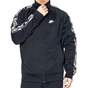 (ナイキ) NIKE トラックジャケット メンズ ジャージ 上 ロゴ スポーツウェア CJ4782 ブラック 黒 M [並行輸入品]