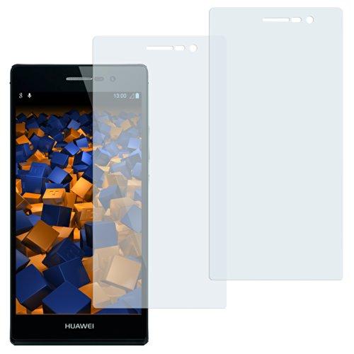 mumbi Schutzfolie kompatibel mit Huawei Ascend P7 Folie klar, Bildschirmschutzfolie (2X)